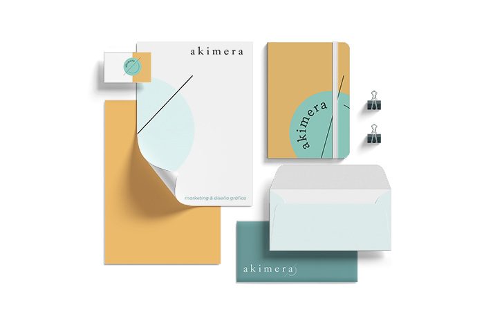 Diseño de papeleria para tu marca